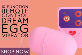 Lovehoney 10 Function Remote Control Dream Egg Vibrator