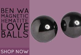 Ben Wa Magnetic Hematite Love Balls