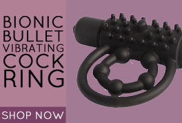 Bionic Bullet Vibrating Cock Ring