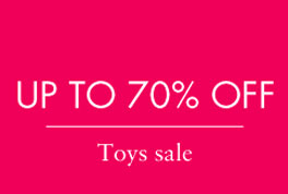 Pabo up to 70% off Toys