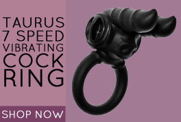 Taurus 7 Speed Vibrating Cock Ring