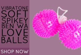 Vibratone Soft Spikey Ben Wa Love Balls